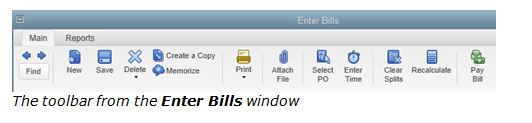 Keeping Track of Bill Due Dates in QuickBooks